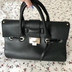 AUTHENTIC Jimmy Choo Rosalie Pebble Leather Bag